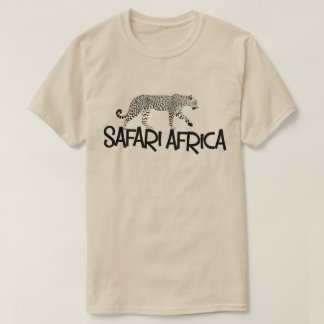 Safari Africa Leopard Tshirt