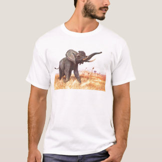 Safari African Jungle Destiny Animals Elephants T-Shirt