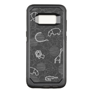 safari animals 5 OtterBox commuter samsung galaxy s8 case