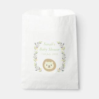 Safari Baby Shower Favor Bags