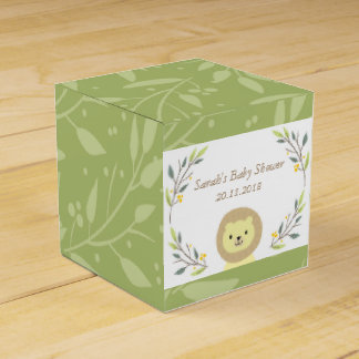 Safari Baby Shower Favor Boxes