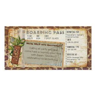 Safari Boarding Pass 2 Card