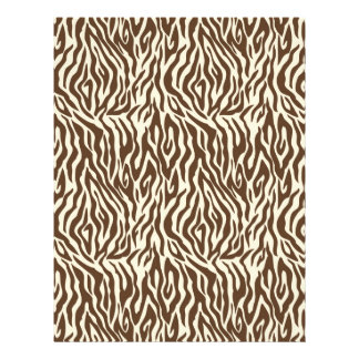 Safari Boy O Dual-Sided Paper Zebra B 21.5 Cm X 28 Cm Flyer