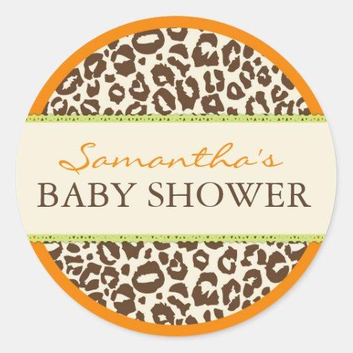 Safari Boy Orange Sticker CHE