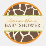 Safari Boy Orange Sticker D