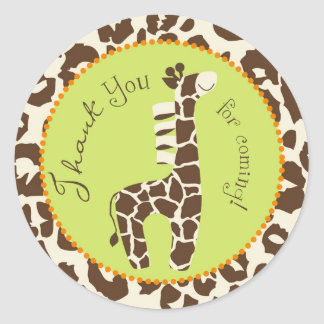 Safari Boy TY Sticker B