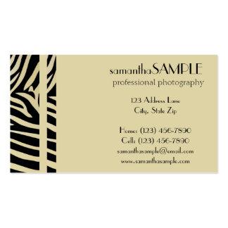 Safari Pack Of Standard Business Cards