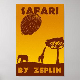 Safari: By Zeplin! Poster
