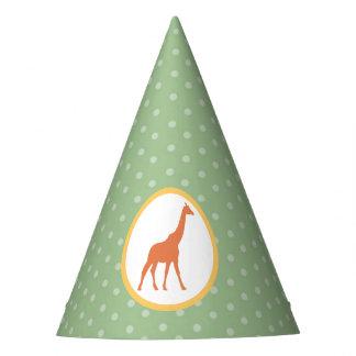 Safari Carousel Birthday Paper Party Hats