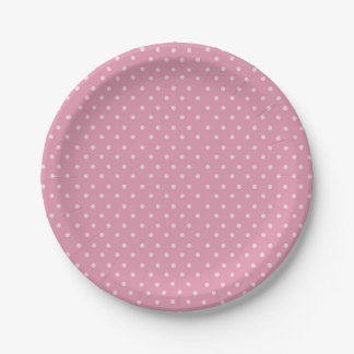 Safari Carousel Birthday Polka Dot Paper Plates