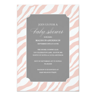 SAFARI CHIC SHOWER | BABY SHOWER INVITATIONS