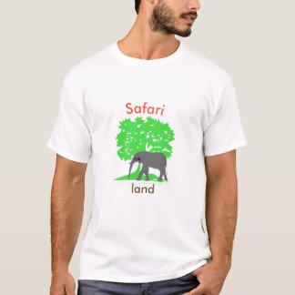 Safari country - elephant Africa T-shirt