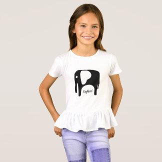 Safari Elephant Design T-Shirt