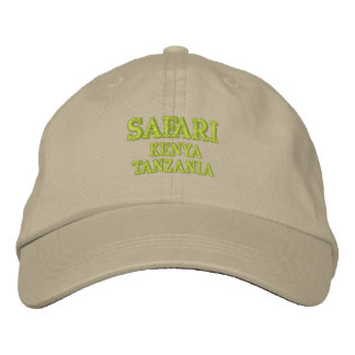 Safari Embroidered Hat