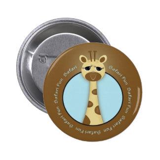 Safari Giraffe Button