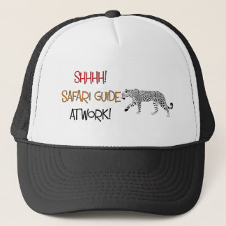 Safari Guide at work cap. Trucker Hat