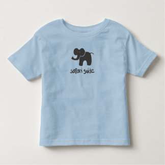 Safari Guide: Elephant Toddler T-Shirt