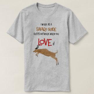 Safari Guide Kudu Tshirt