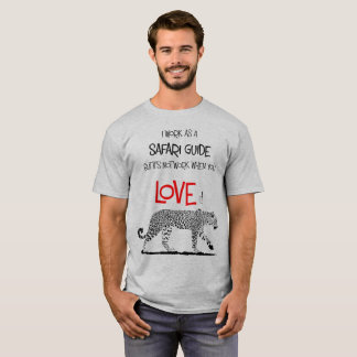 Safari Guide Leopard Tshirt