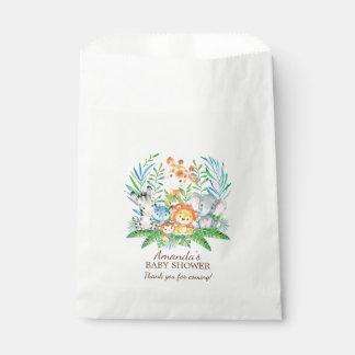 Safari Jungle Baby Shower Favor Bags