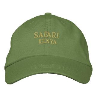 Safari Kenya Embroidered Hat