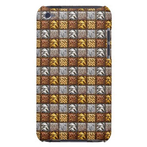 Safari Print Tiles Barely There iPod Cover