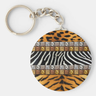 Safari Prints Key Ring