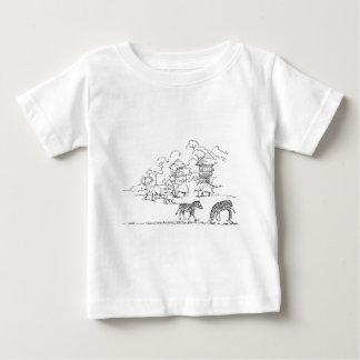 Safari resort infant T-Shirt