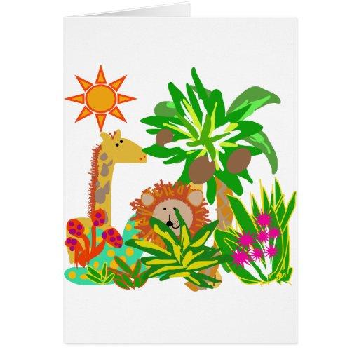 Safari Tshirts and Gifts Greeting Cards