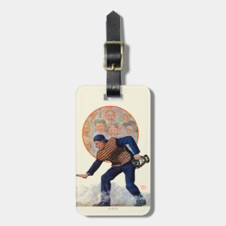 Safe at the Plate Luggage Tag