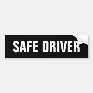 Safe Driver Bumper Sticker