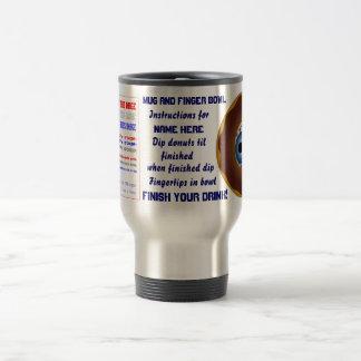 Safe driving Mug and Finger bowl dipper