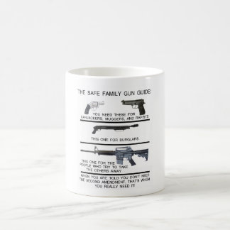 SAFE FAMILY GUN GUIDE COFFEE MUG