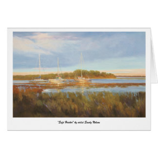 """Safe Harbor"" by artist Sandy Nelson Card"