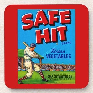Safe Hit Coasters