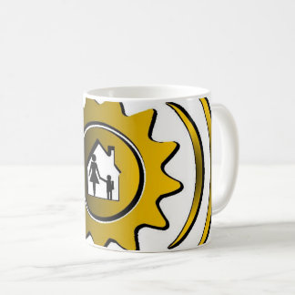 safe house can be a matter of life or death coffee mug