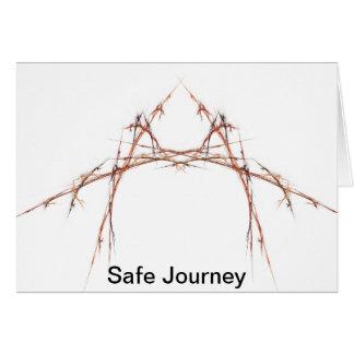 Safe Journey Greeting Card