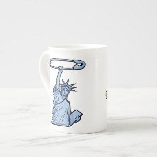 SAFE Liberty & Justice: BOTH on one Coffee Mug