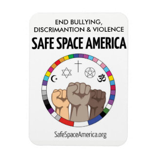 Safe Space America Magnet