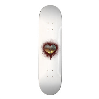 Safe the nature bleeding heart tree of life skate board decks