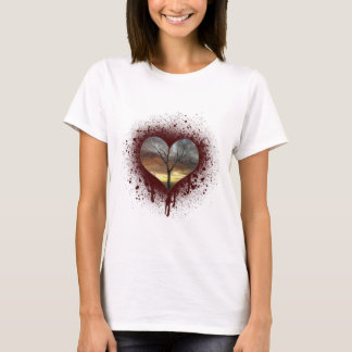 Safe the nature bleeding heart tree of life T-Shirt
