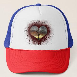 Safe the nature bleeding heart tree of life trucker hat