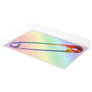 Safe-ty Pin Acrylic Tray
