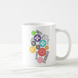 Safe With Me Cogs Classic Mug