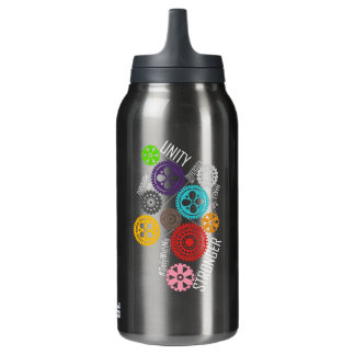 Safe With Me Cogs Dark Sigg Hot & Cold Bottle