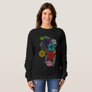 Safe With Me Cogs Dark Women's Basic Sweatshirt