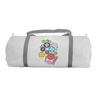 Safe With Me Cogs Duffel Bag