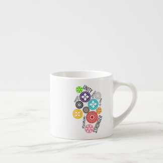 Safe With Me Cogs Espresso Mug