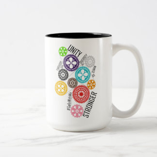 Safe With Me Cogs Large Mug