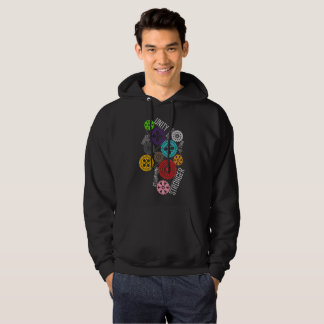 Safe With Me Cogs Men's Basic Dark Hoodie
